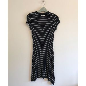 American Eagle | Soft & Sexy Ribbed Stripe Dress